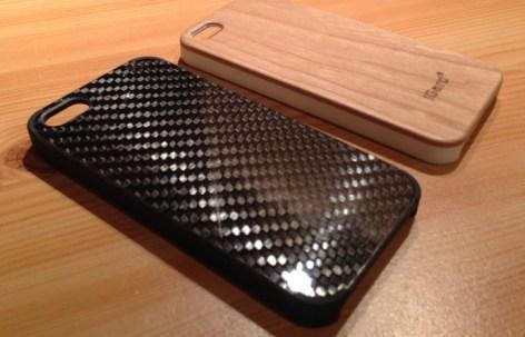 iGard Premium Case Carbon und Kirschholz