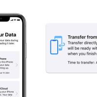 iPhone Datenübertragung inklusive eSIM-Profil