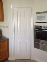 Painting a Door...... Using Gloss enamel. - TMZ Painting