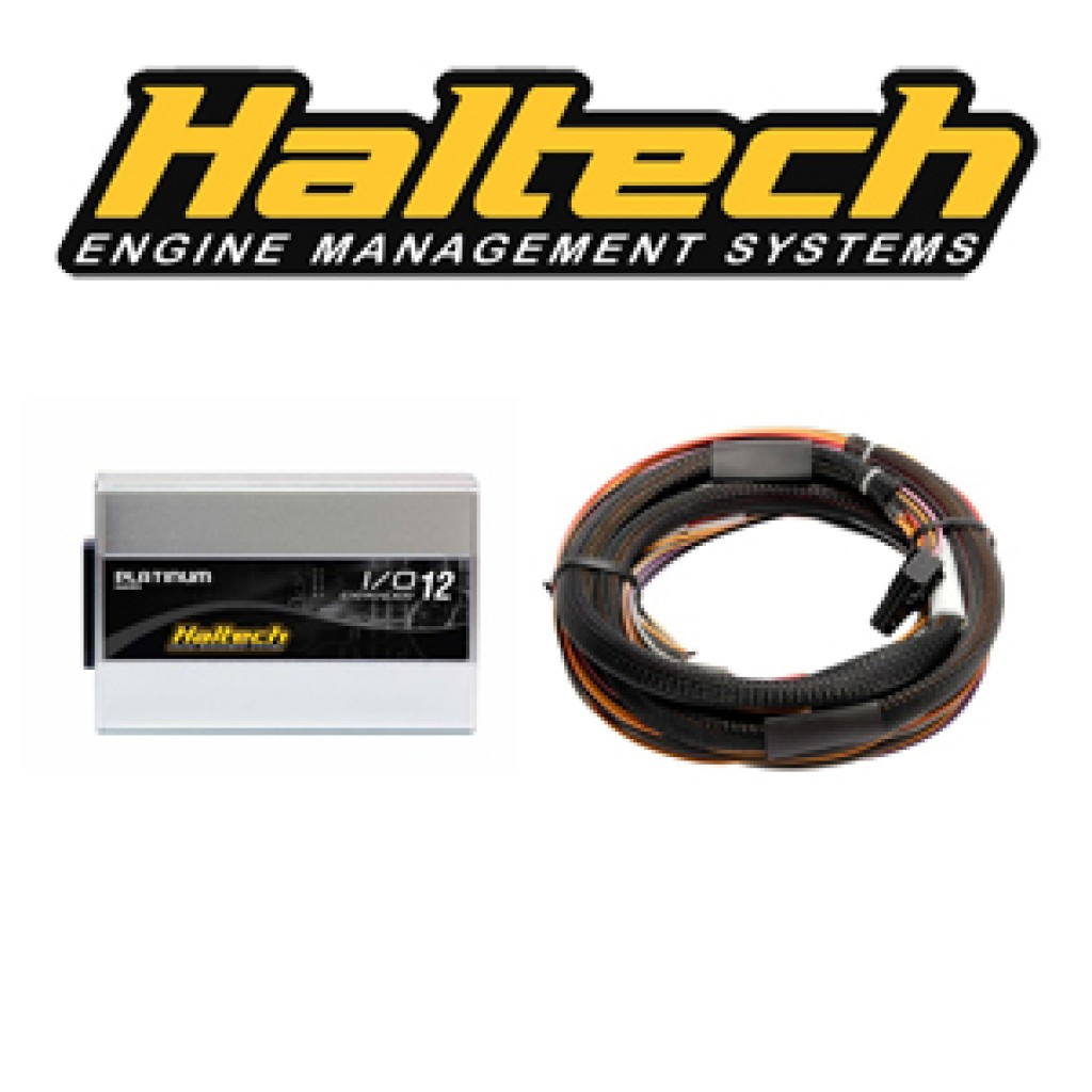 hight resolution of haltech io 12 expander box b can based 12 channel with flying lead harness 2 5m and can cable ht 059905
