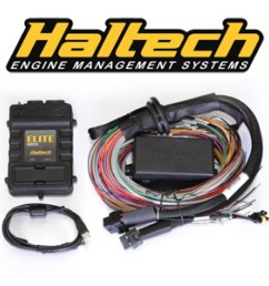 haltech elite 2500 dbw with 2 5m 8 ft premium universal wiring harness kit ht 151304 [ 1024 x 1024 Pixel ]