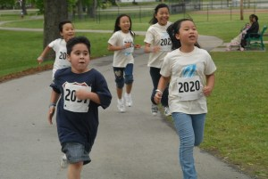 Kids Running Afterschool