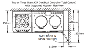 AGA Integrated Module at TN Cook Limited