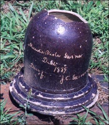 Clay Pot Headstones Fire Glazed Cermaic Gravemarker