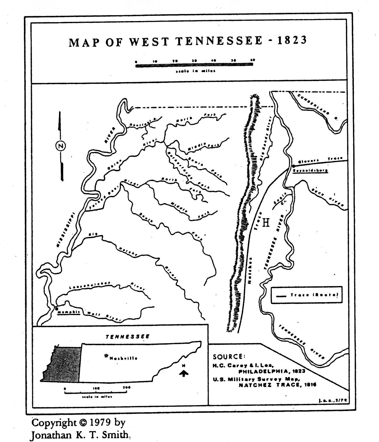 The West Tennessee Natchez Trace