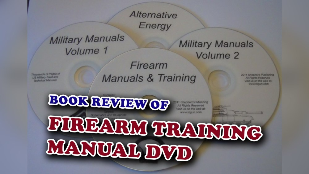 medium resolution of firearm training manual dvd book review