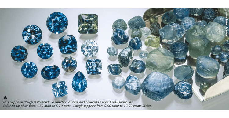mining sapphires in montana