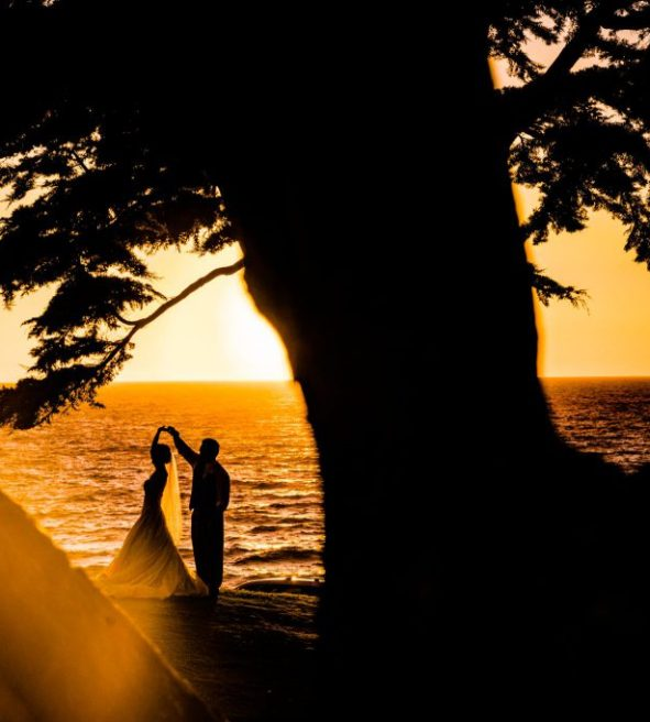 28cadd3970 Most couples say their vows during sunset's lavish light, in front of a  quartet of ocean-facing windows on the main floor at Redondo Beach Wedding.