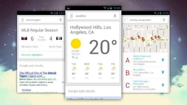 Google Now Cards