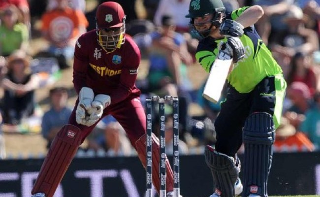 Ireland Beat West Indies By Four Wickets In World Cup