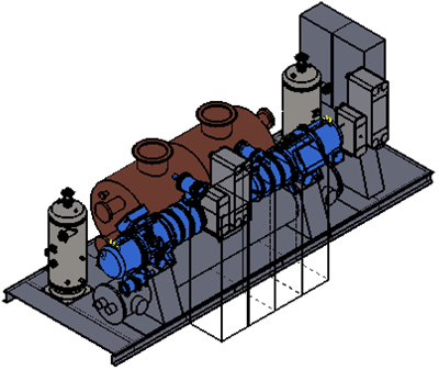 hight resolution of low capex industrial heat pump