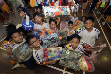 Kids Get Their Fill From Annual Toy Buffet Latest