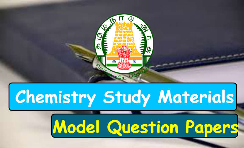 TNPSC Science Study Materials and Model Question Papers in