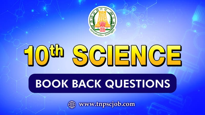 10th Science Book Back Questions with Solution