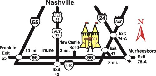 Directions to The Tennessee Renaissance Festival