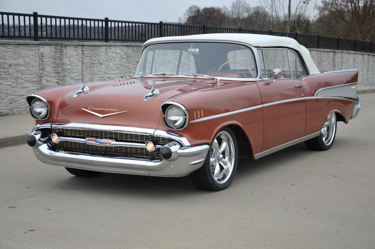 1957 Chevy Bel Air Convertible Colors