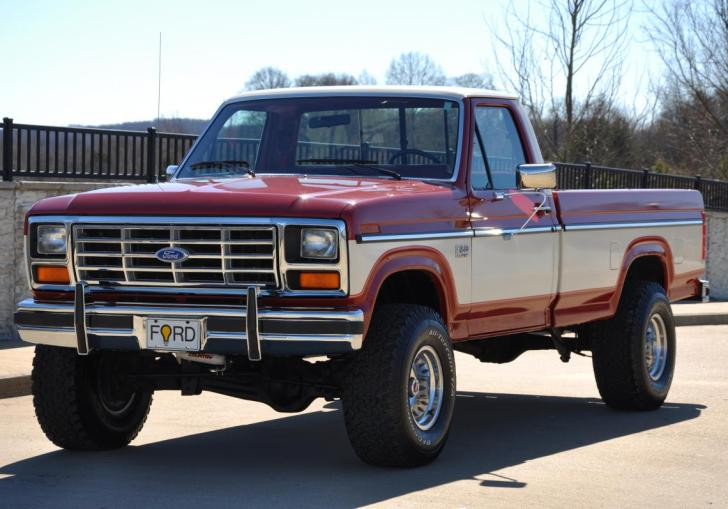 1985 Ford F150 4x4