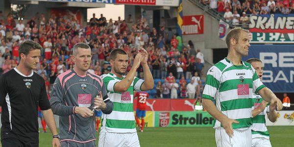 Helsingborg v The New Saints Helsingborg 3-0 TNS Pic is Christian Seargeant PB365-2012