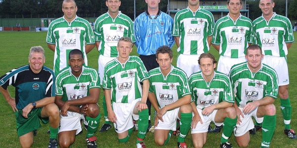 TNS V Amica Wronki (Poland) UEFA Cup at Latham Park, Newtown.