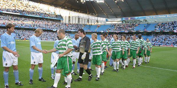 Manchester City v TNS UEFA Cup.