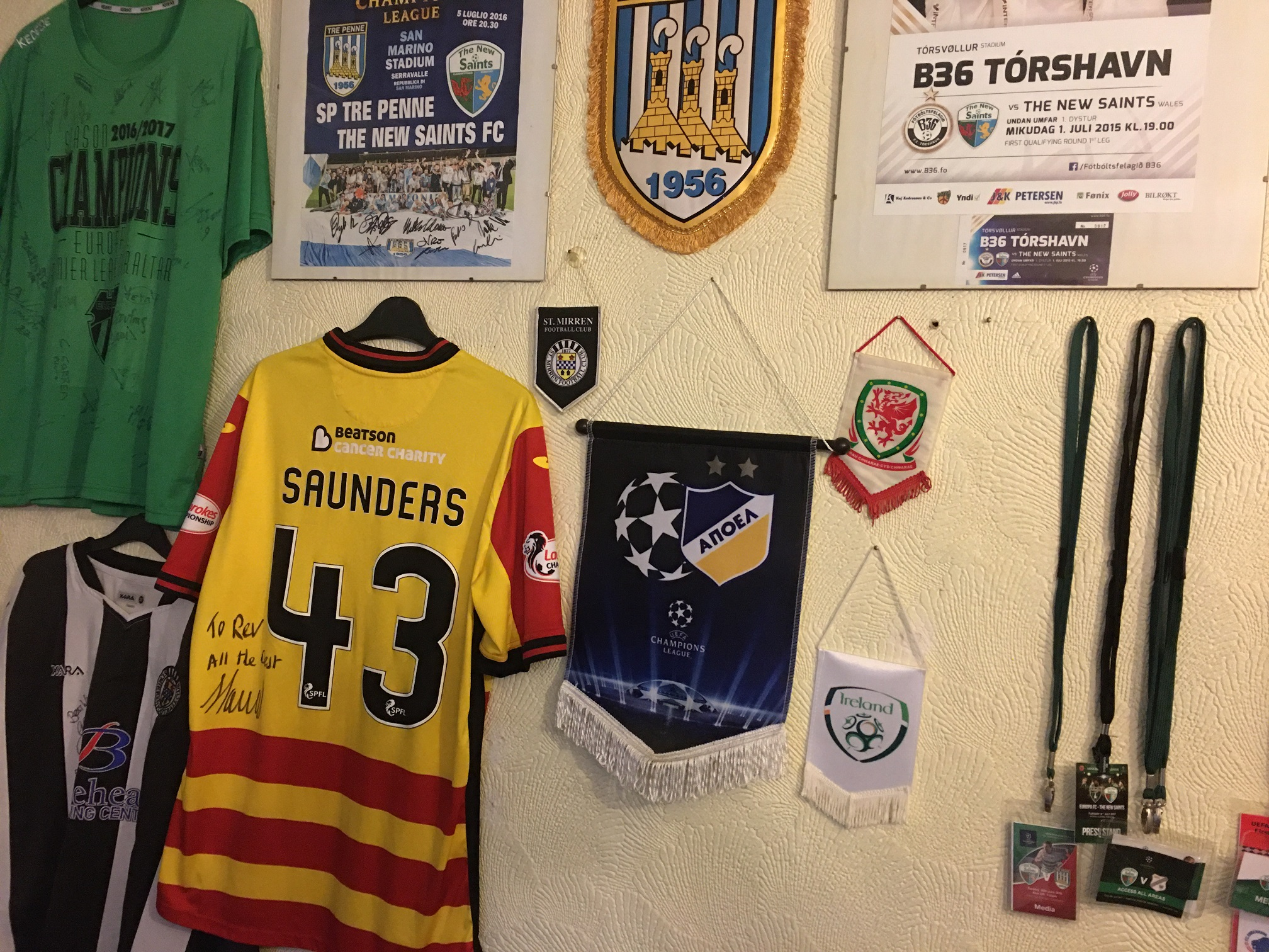 My Personal Football Memorabilia Collection, And More – Rev's Ramblings –  TNSFC