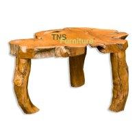 TNS Furniture   Teak Root Coffee Table