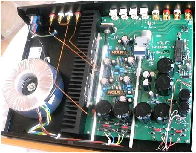 8 ohm wiring diagram for relay spotlights holfi integra 88 se amplifier [english]