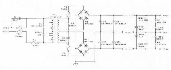 car capacitor wiring diagram audio eye of chicken solid state power amplifier supply part 2