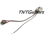 1 Volume One Pickup Wiring Harnesses, Custom Made to Order