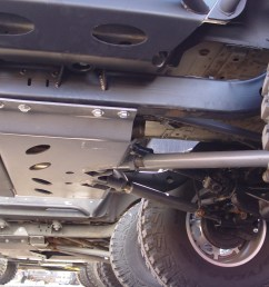 tnt jeep lj long arm suspension upgrade high clearance crossmember [ 2560 x 1920 Pixel ]