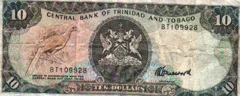 Trinidad Amp Tobago Currency Bills