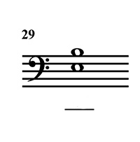 Intervals   Major and Perfect