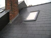 Man Made Slate Re-Roof - TNT Roofing Specialist