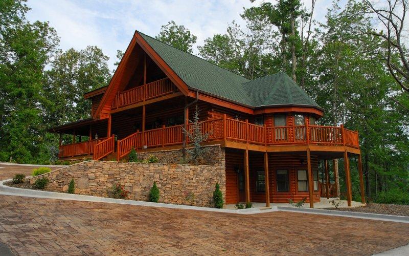 Timber Tops Luxury Cabin Rentals  Gatlinburg in