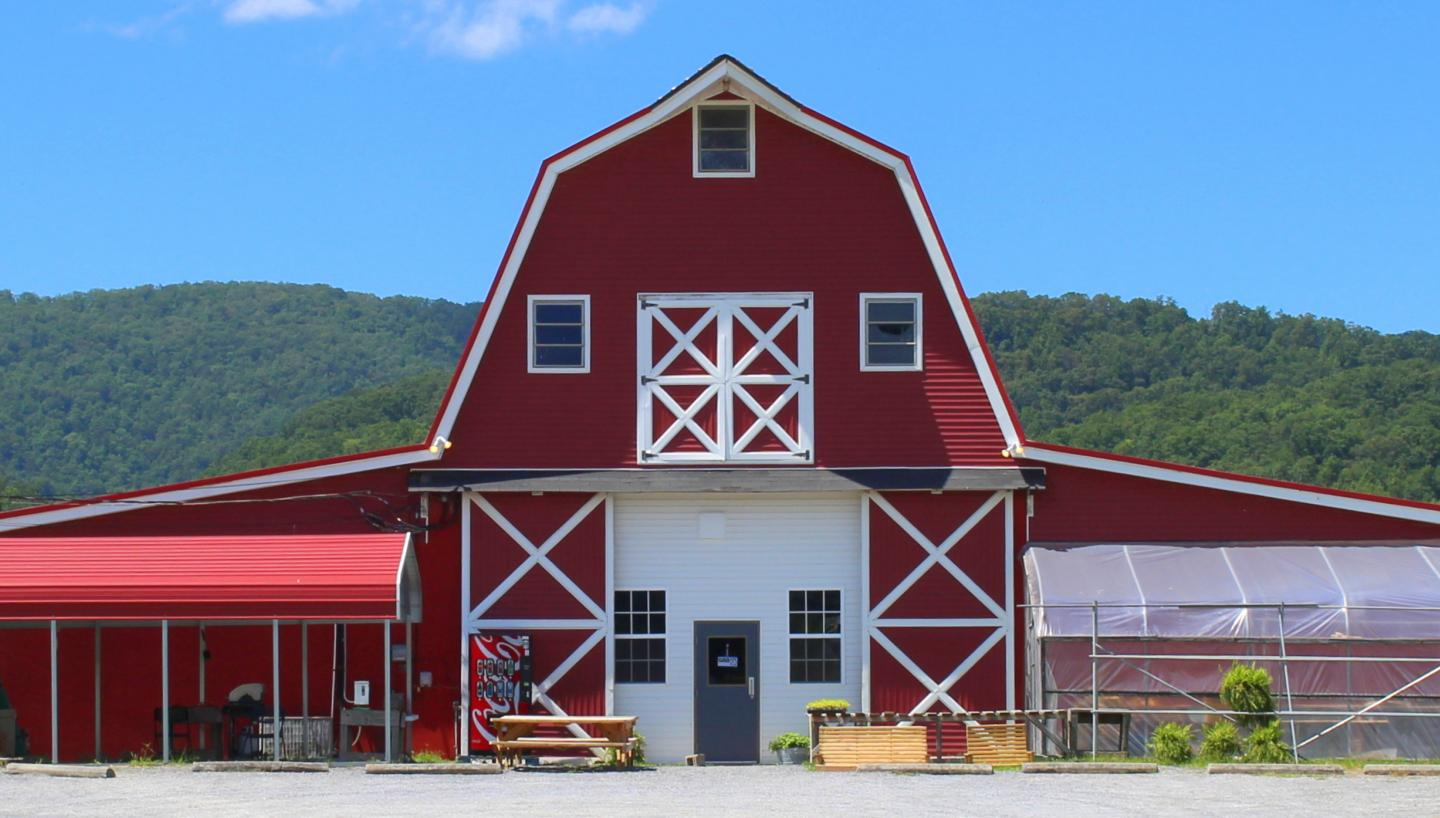 Red Barn Produce in Rutledge TN  Tennessee Vacation