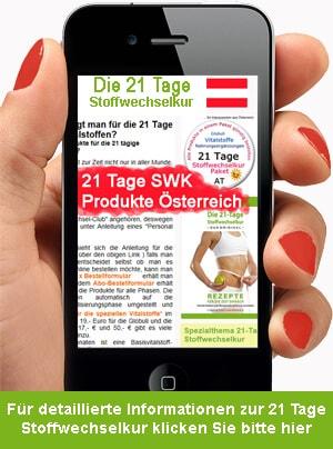 21 Tage Stoffwechselkur Paket Österreich