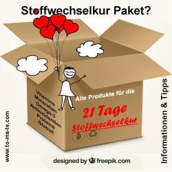Preiswertes Produktpaket 21 Tage Stoffwechselkur