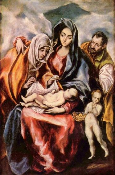 El Greco Sagrada Familia Madrid Art Collection Photo
