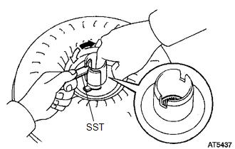 Toyota 4Runner: Torque Converter Clutch And Drive Plate