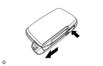 Toyota 4Runner: Door Control Transmitter(w/ Smart Key