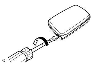 Toyota 4Runner: Transmitter Battery(w/ Smart Key System