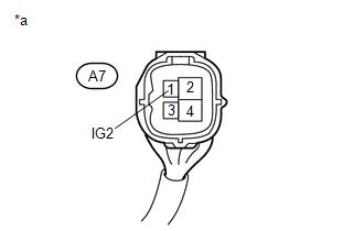 Toyota 4Runner: Open Circuit in IG1/IG2 Power Source