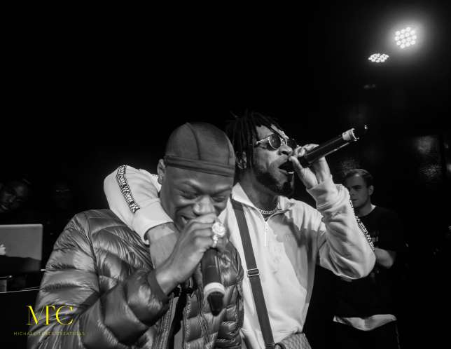 Wizkid, Tiwa, Mr Eazi Show Up For Burna Boy's Album Release Party In London | Photos