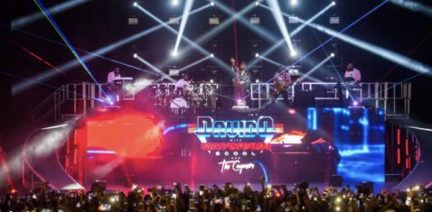VIDEO: Davido and the Compozers – Dami Duro Performed Live In London