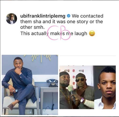 Triple MG Boss Reacts To Song Theft Allegation Against Tekno By Danfo Drivers