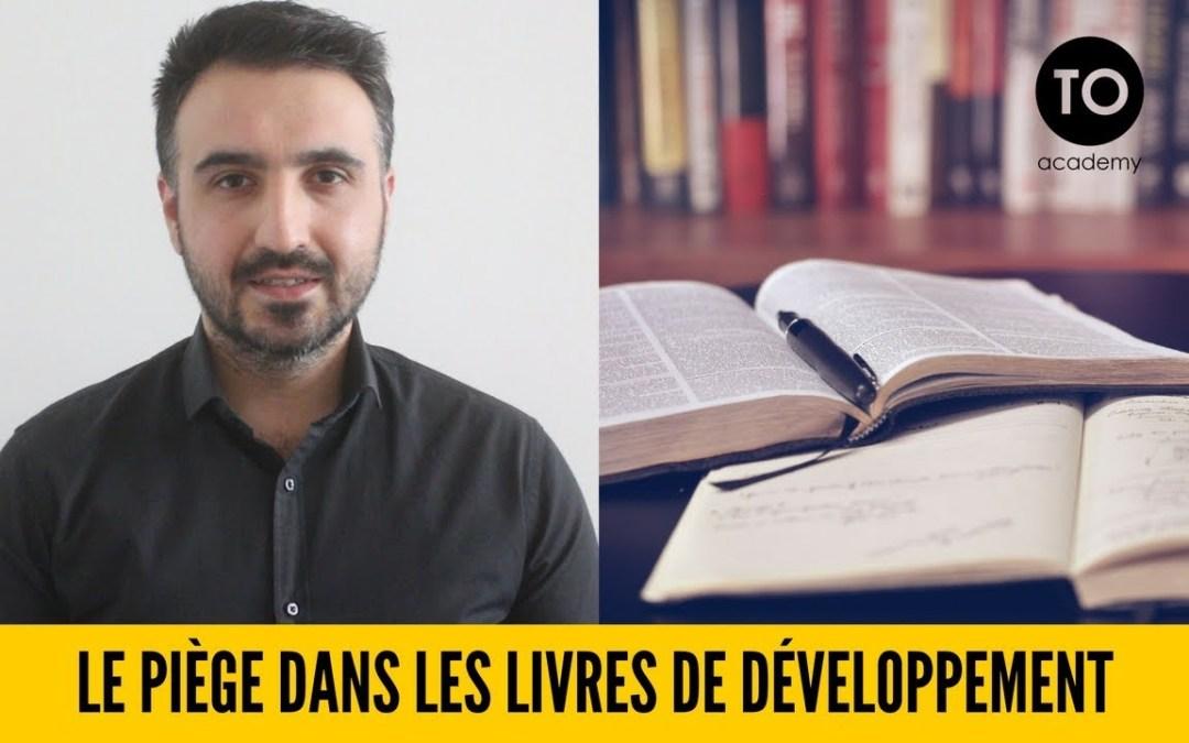 Le piège dans les livres de développement personnel