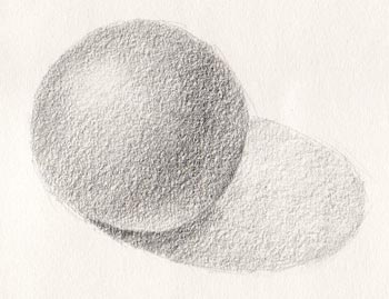 Line Drawing With Shading : Beginning shading exercise u shade a ball carol s drawing