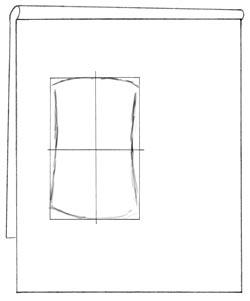 Vase proportionally doubled in size. C. Rosinski