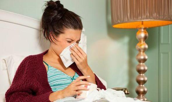 Sneezing in Bed