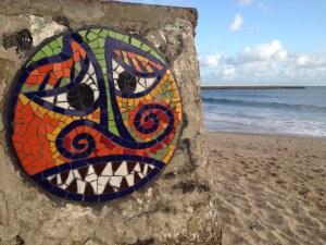 Mosaic in Fortaleza